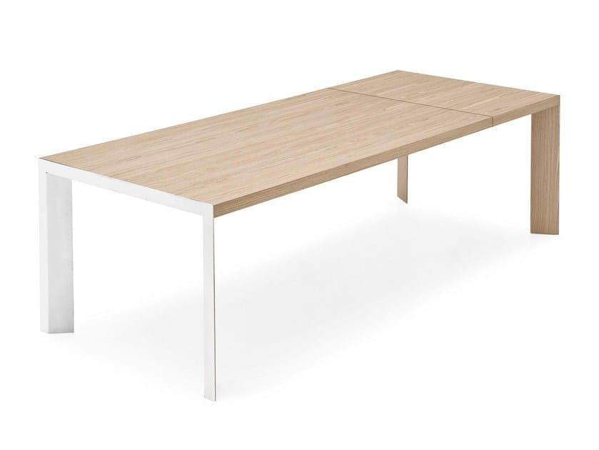 Extending rectangular table LAM | Extending table - Calligaris