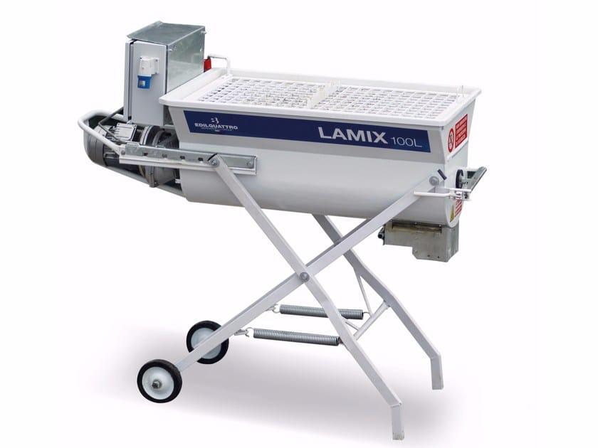 Mescolatrice per malte da muratura e da intonaco LAMIX 100L - Bernardelli Group