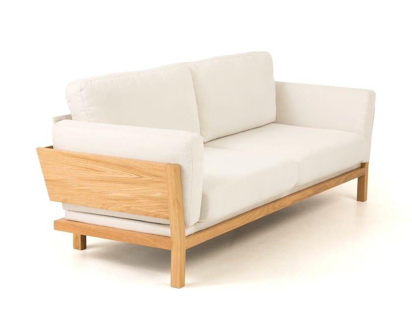 2 seater fabric sofa LANZA - Woodman