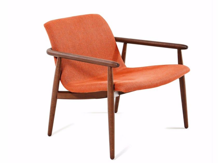 Armchair with armrests LAPIS | Armchair - Varaschin