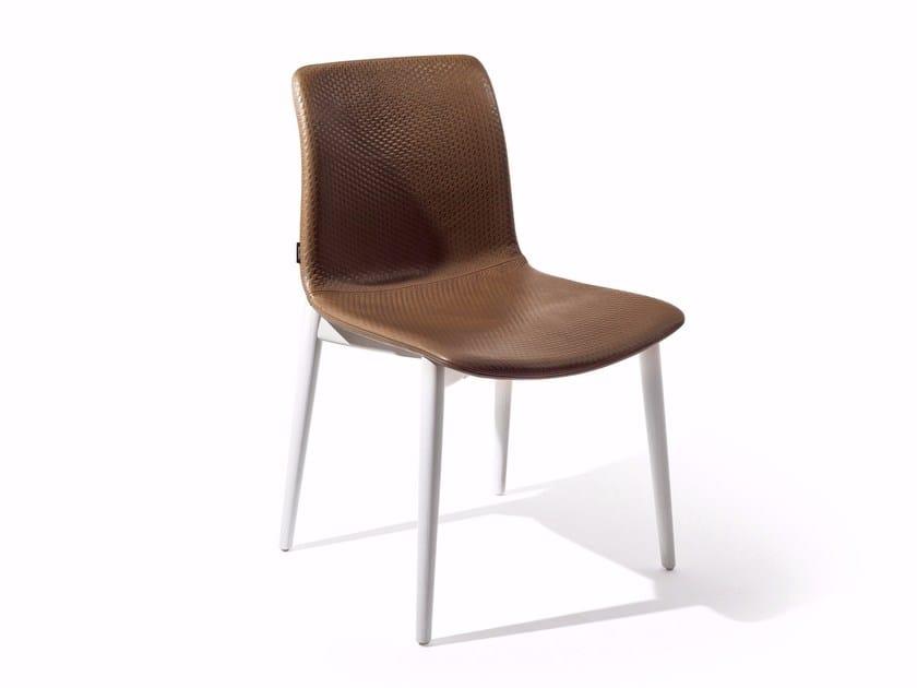 Leather chair LAPIS | Chair - Varaschin