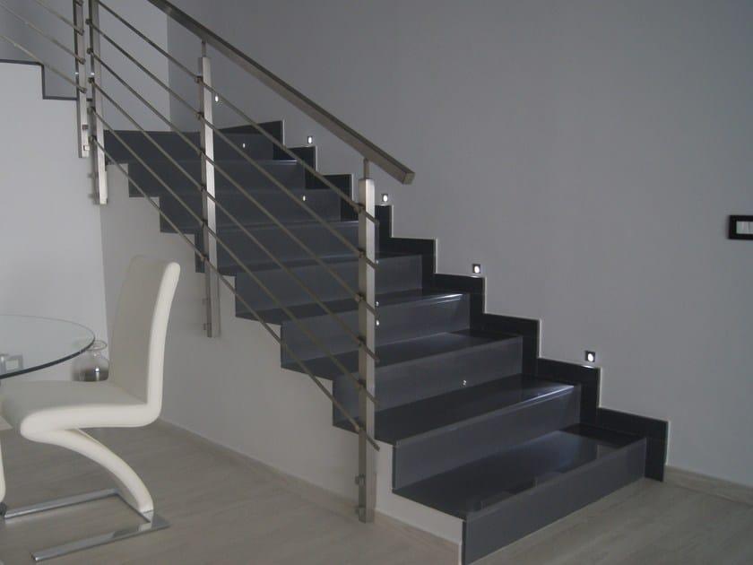 Rivestimento per scale in lapitec lapitec rivestimento per scale lapitec - Rivestimento per scale interne ...