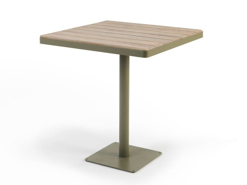 Square teak garden table LAREN | Square table - Ethimo