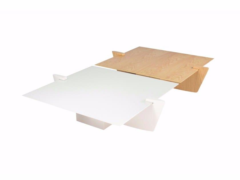 Low wooden coffee table LAS NIÑAS | Coffee table - LOUIS KAZAN