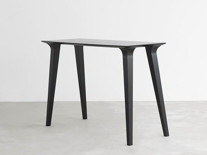Rectangular wooden console table LAU | Console table - STUA