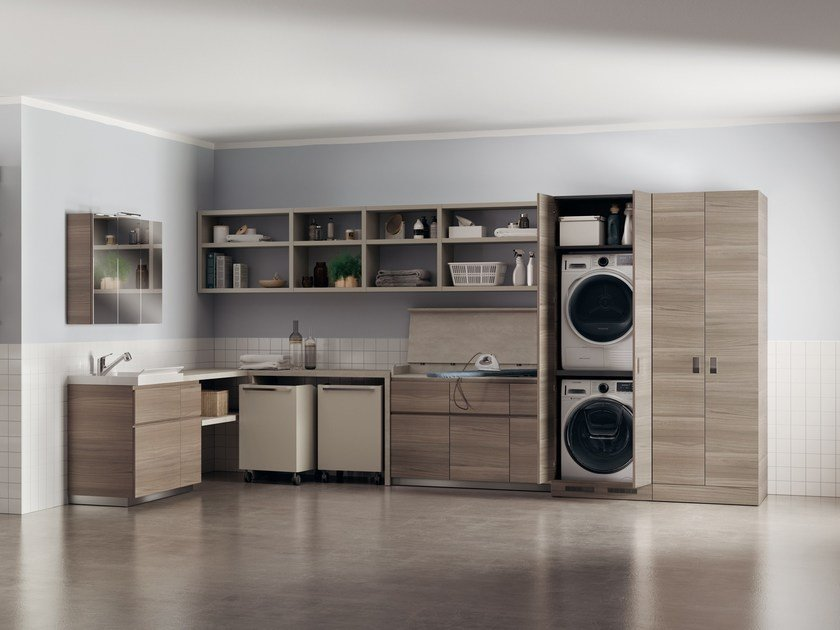Laundry room cabinet LAUNDRY SPACE by Scavolini Bathrooms