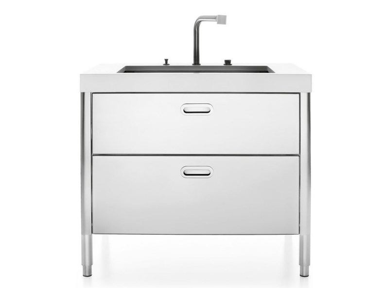 Steel kitchen / sink LAVAGGIO 100 | Sink by ALPES-INOX