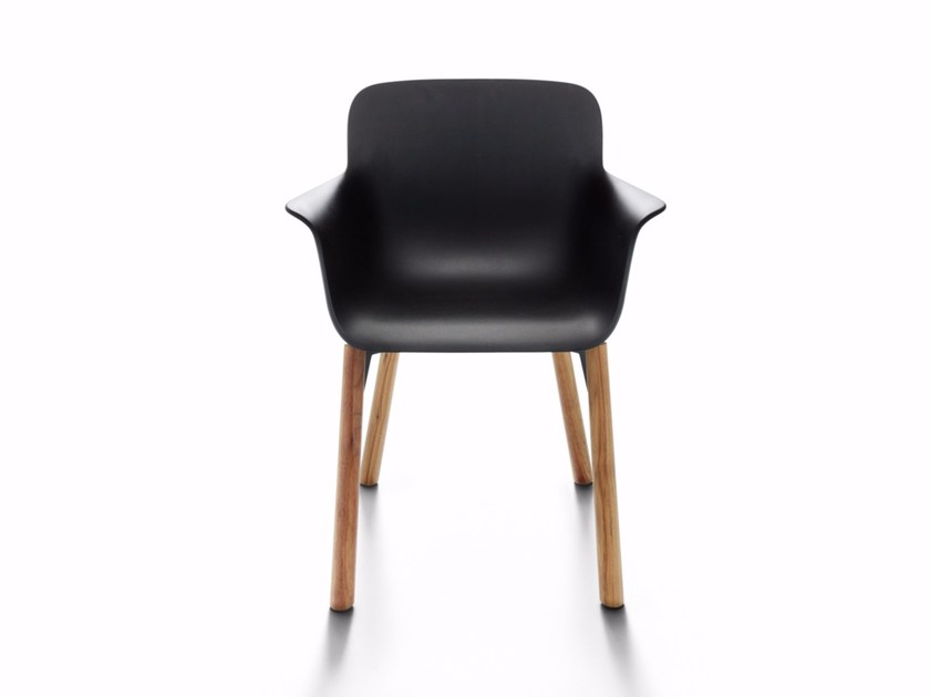 Polyurethane chair with armrests LAVENHAM EXECUTIVE by DE PADOVA