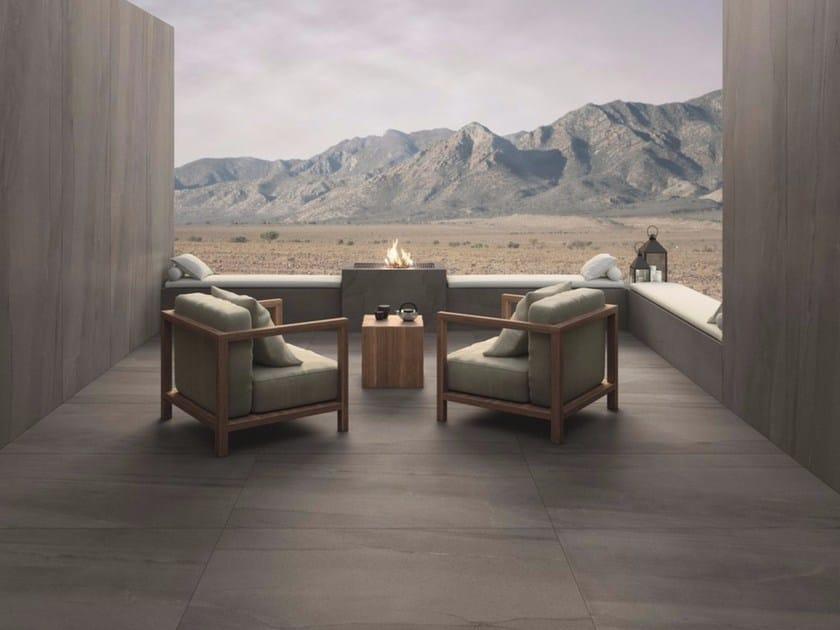 Pavimento/rivestimento in gres porcellanato effetto pietra per esterni LAVICA BEIGE | Pavimento/rivestimento per esterni - FMG Fabbrica Marmi e Graniti