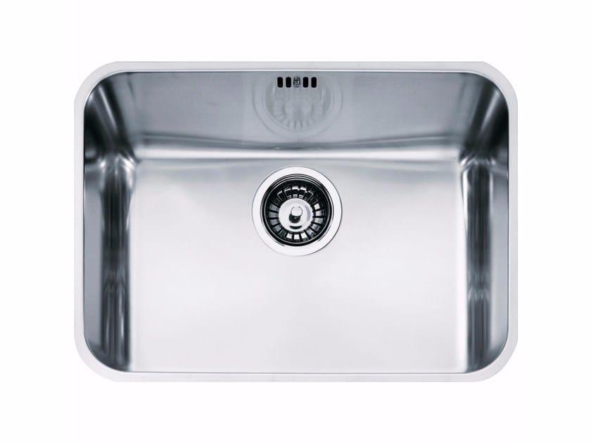 Lavello a una vasca sottotop in acciaio inox LAX 110-50 - FRANKE