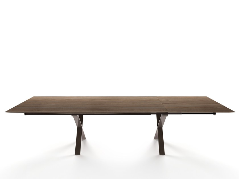 Extending wooden table LAX | Extending table by more