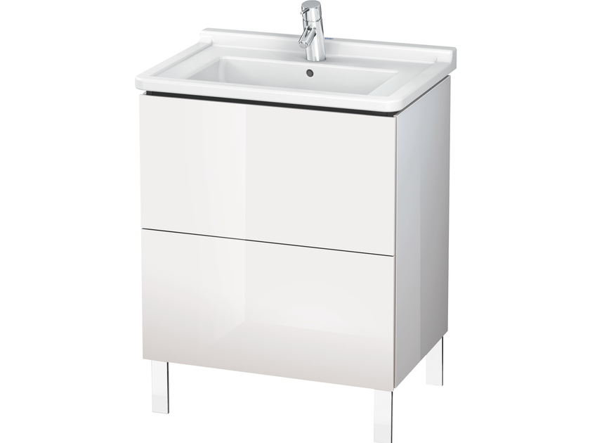 Vanity unit with drawers LC 6608 | Vanity unit with drawers by Duravit