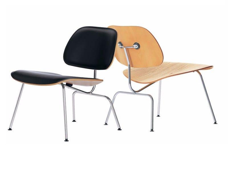 silla de madera lcm by vitra
