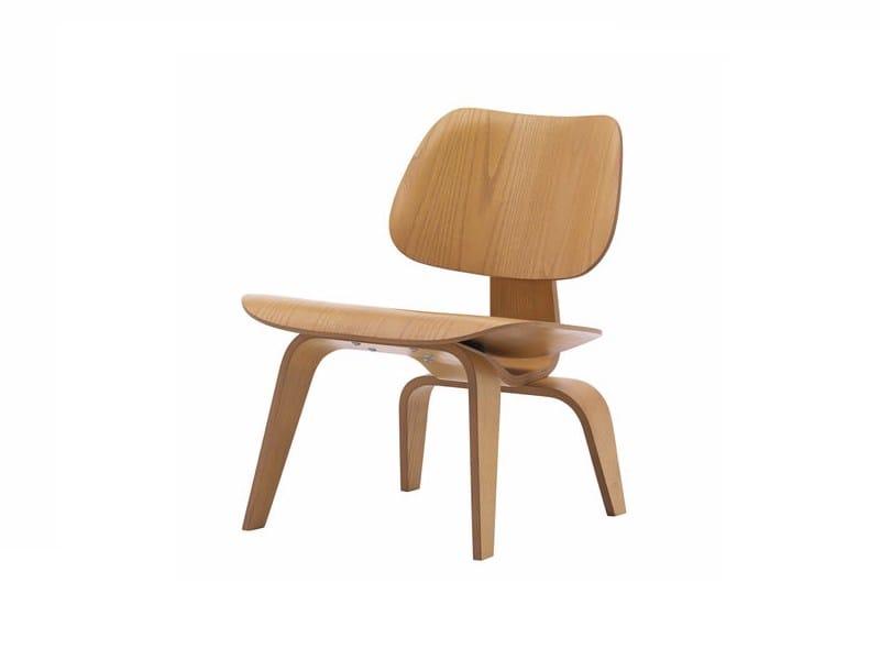 silla de madera lcw by vitra