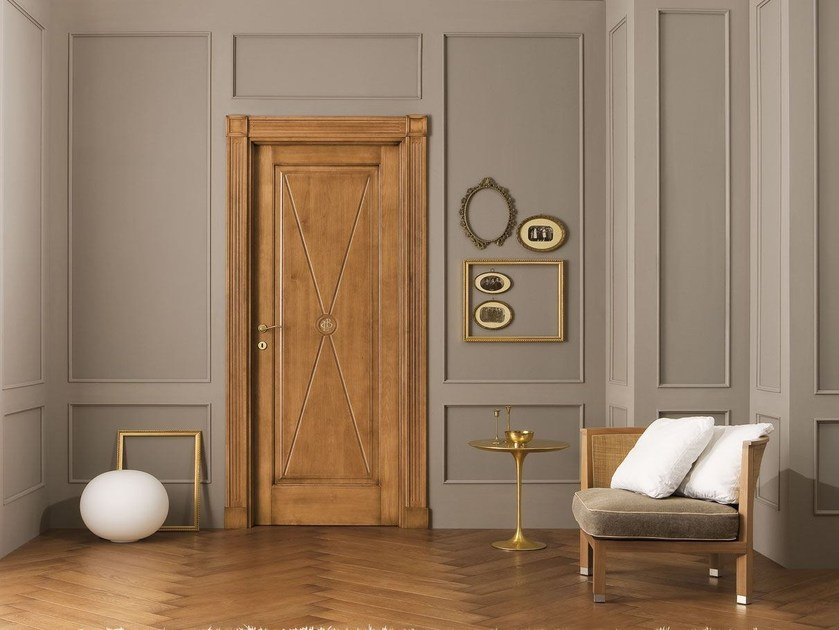 Solid wood door LE CIFRE - LEGNOFORM