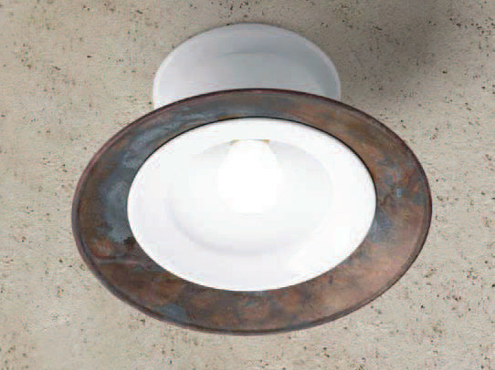 Ceramic ceiling light LE CIOTOLE | Ceiling light by Aldo Bernardi