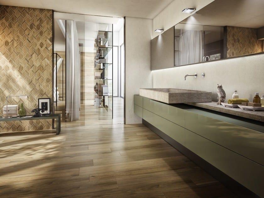 Pavimento in gres porcellanato smaltato effetto legno le - Piastrelle la faenza ...