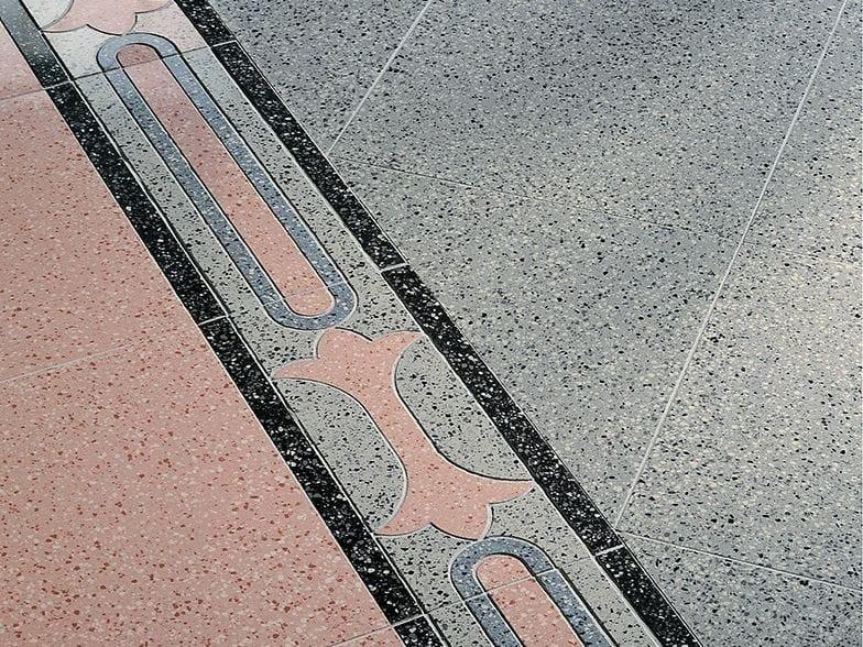 Porcelain stoneware flooring with granite effect LE GRANIGLIE - Ceramiche Coem