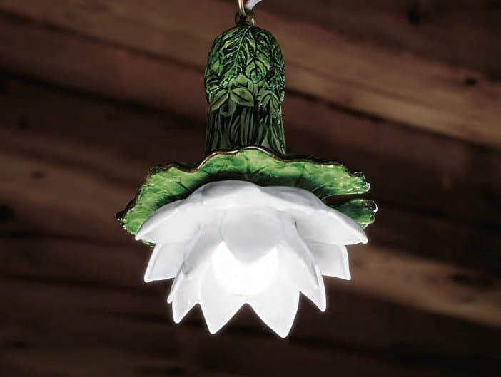 Ceramic pendant lamp LE NINFEE | Pendant lamp - Aldo Bernardi