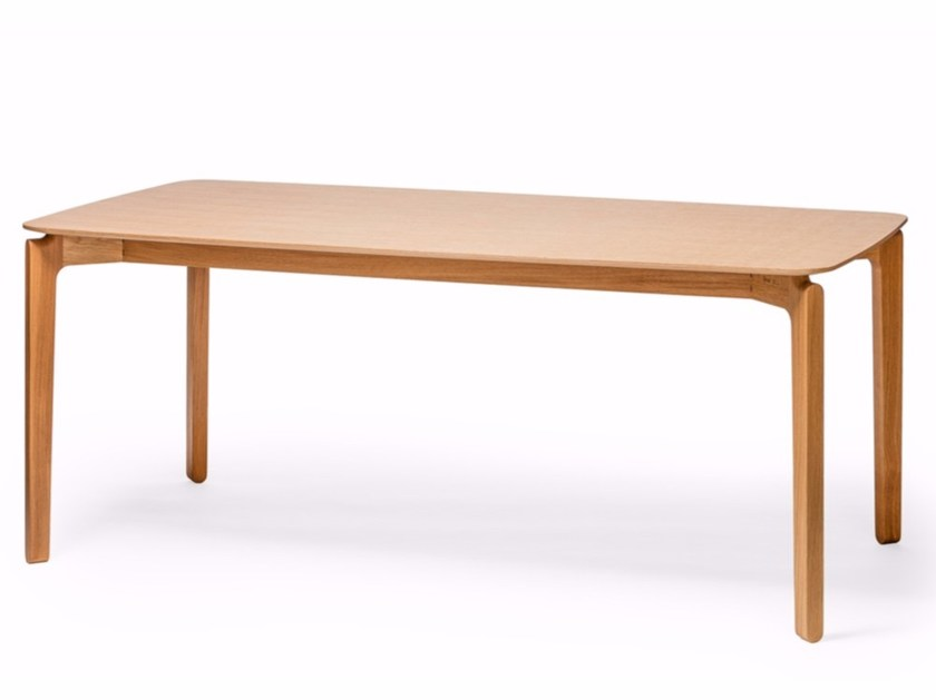 Rectangular wooden table LEAF   Rectangular table by TON