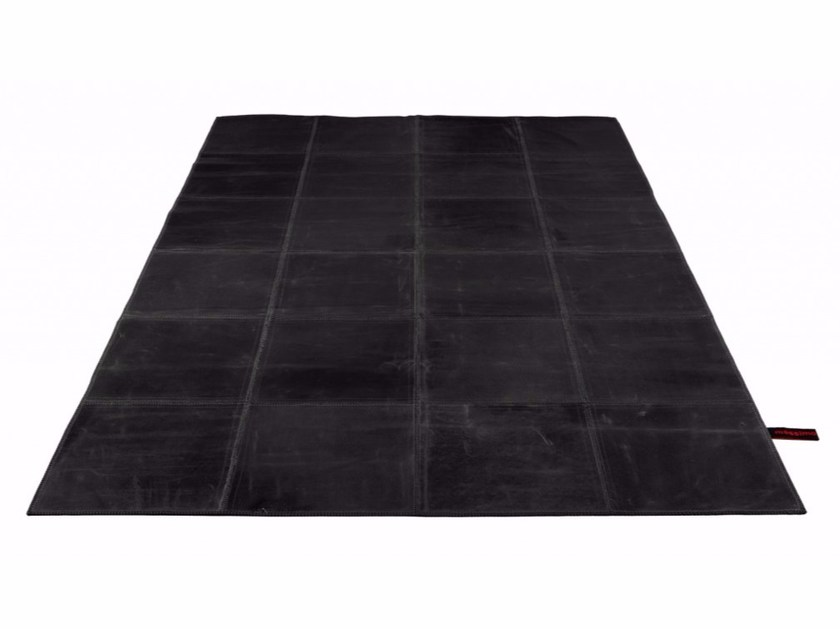 Handmade leather rug LEATHER RUG - Massimo