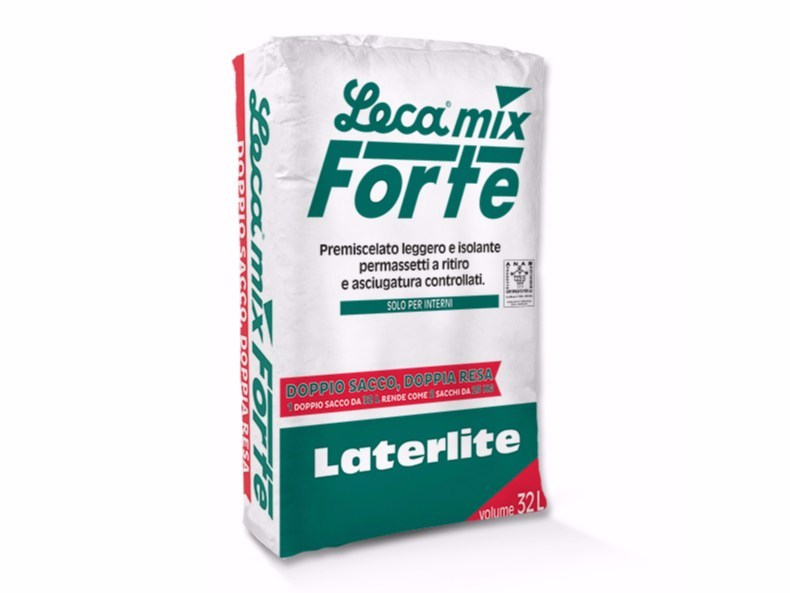 Pre-mixed screed LECAMIX FORTE - Laterlite