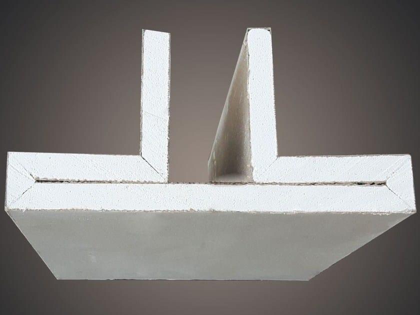 Profilo LED trave 2 fonti LED 006 - Profilgessi