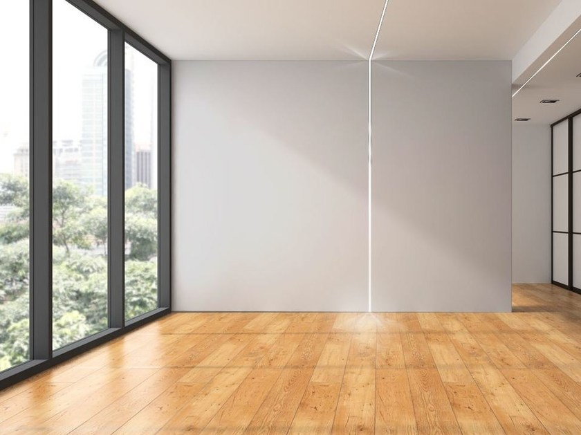 Profilo LED piano luce diretta LED 008 - Profilgessi