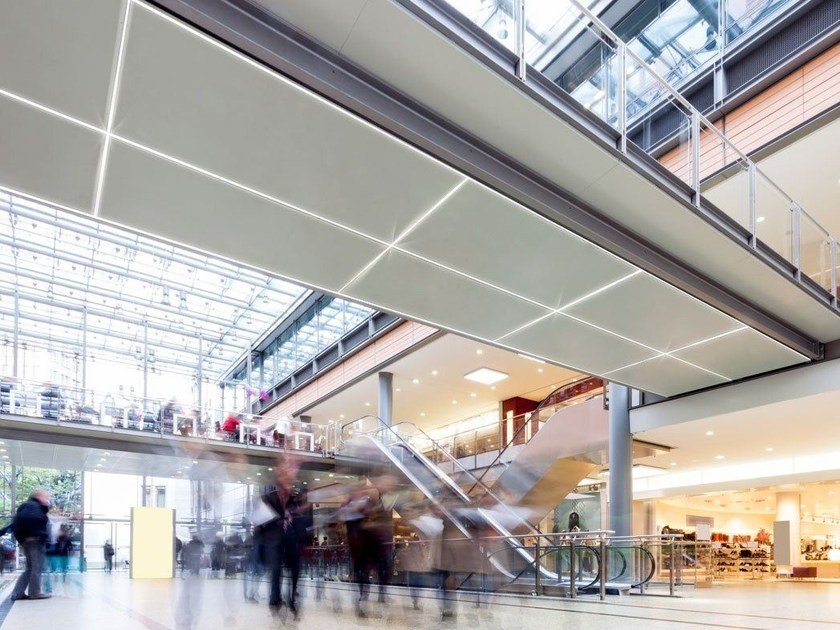 Ceiling mounted built-in lighting profile for LED modules LED 010 - Profilgessi