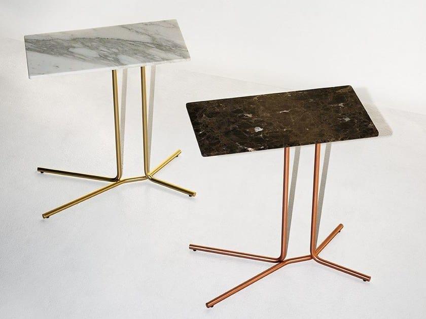 Tavolino di servizio rettangolare LEDGE - Tacchini Italia Forniture