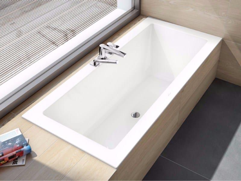 Vasca da bagno in acrilico da incasso legato vasca da - Villeroy boch bagno ...