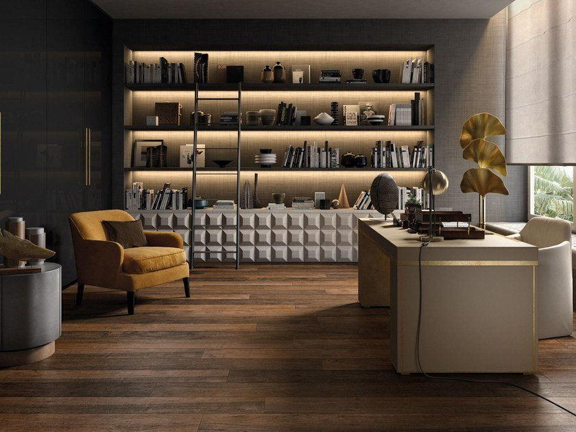 Porcelain stoneware flooring with wood effect LEGNO DEL NOTAIO by Ceramica d'Imola