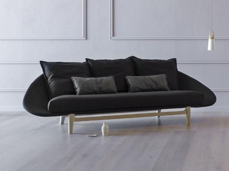 3 seater fabric sofa LEM | 3 seater sofa - Miniforms