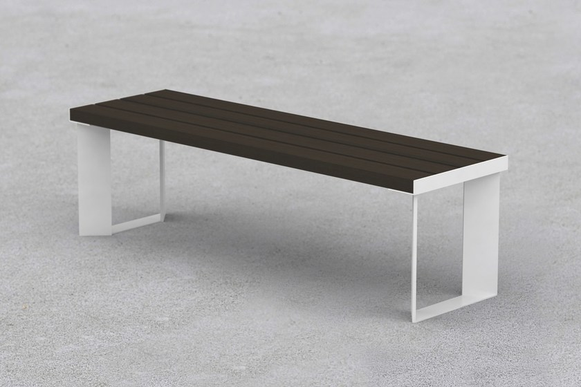 Backless steel Bench LEMMY | Bench - LAB23 Gibillero Design Collection