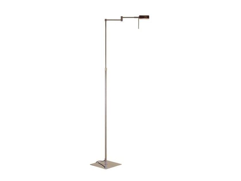 Adjustable metal floor lamp LENG | Metal floor lamp by Aromas del Campo