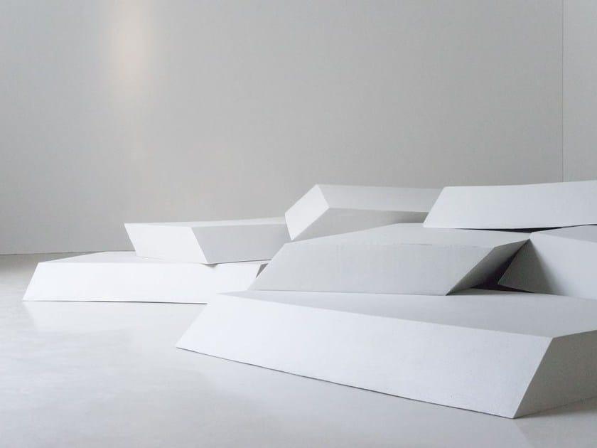 Sectional polyurethane sofa LES MARCHES - smarin