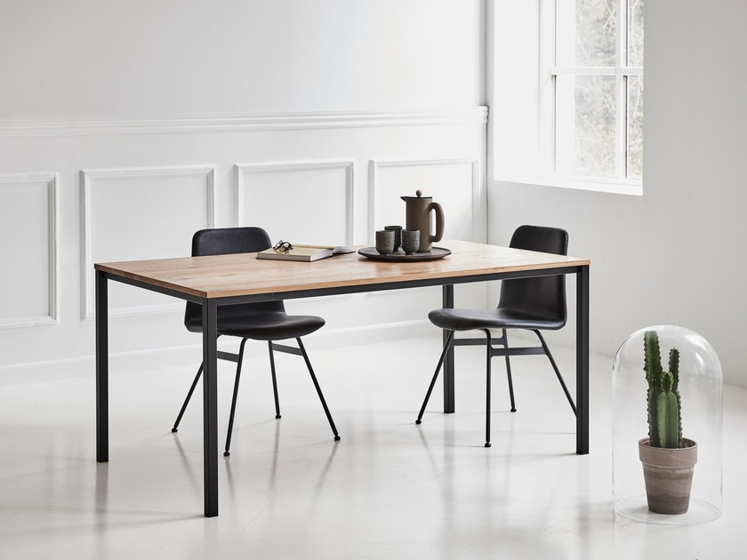 Extending oak table LESS IS MORE TABLE by dk3