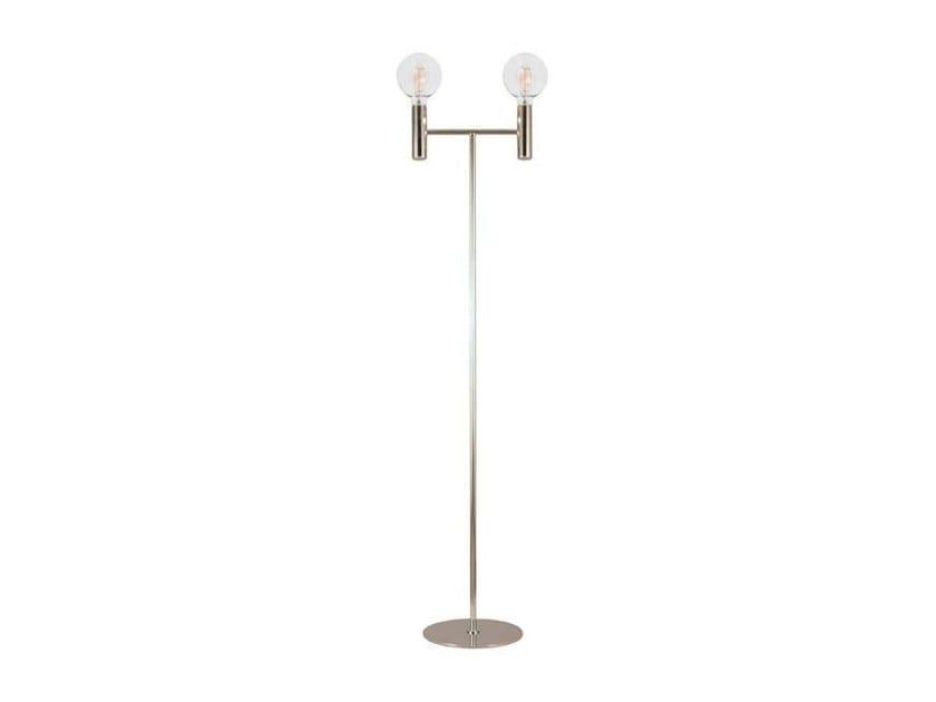 Metal floor lamp LESS | Metal floor lamp - Aromas del Campo