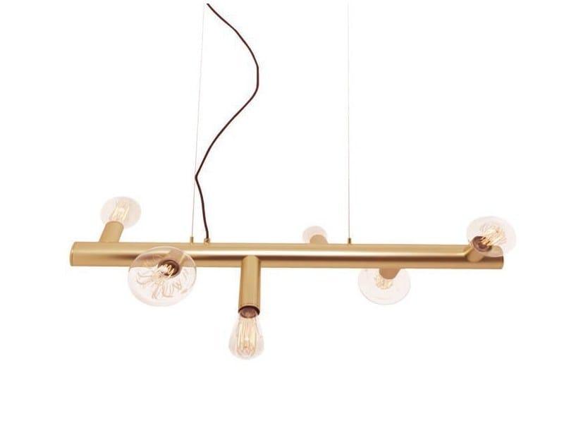 Metal pendant lamp LESS MAXI by Aromas del Campo