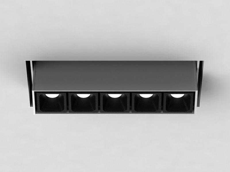 LED semi-inset multiple spotlight LEVA   Semi-inset spotlight by LUCIFERO'S
