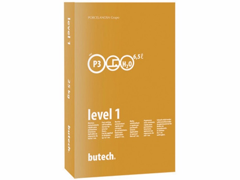 Self-levelling mortar LEVEL 1 N - Butech