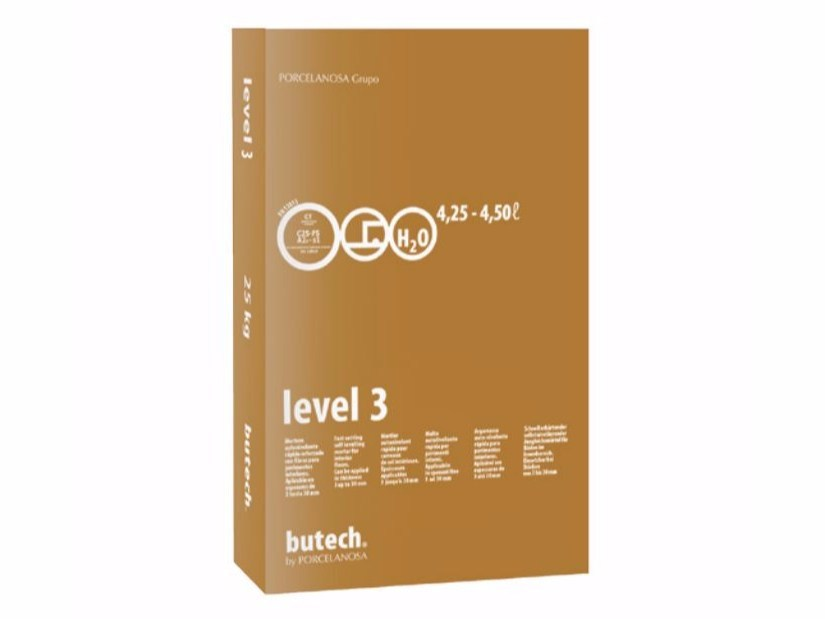 Self-levelling mortar LEVEL 3 - Butech