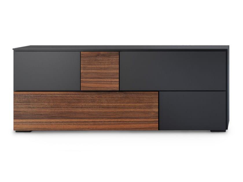 Lacquered wooden sideboard LOFT | Sideboard - Oliver B.