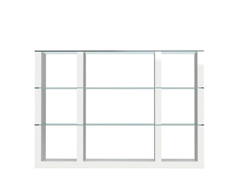 Open sectional bookcase LIB | Modular bookcase - Calligaris