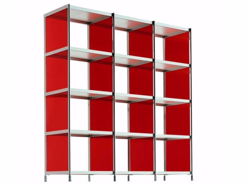 Open modular bookcase LIB005 - SEC_lib005 - Alias