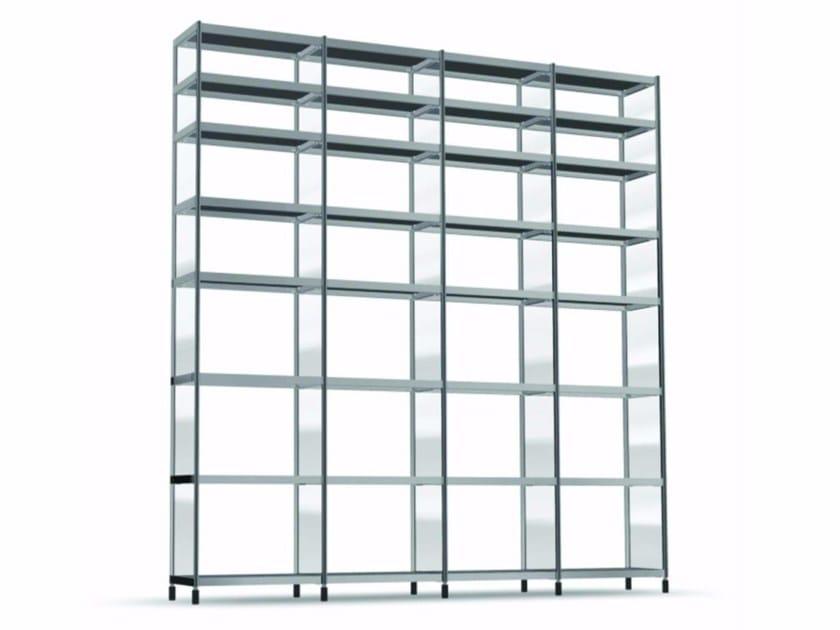Open modular bookcase LIB009 - SEC_lib009 - Alias