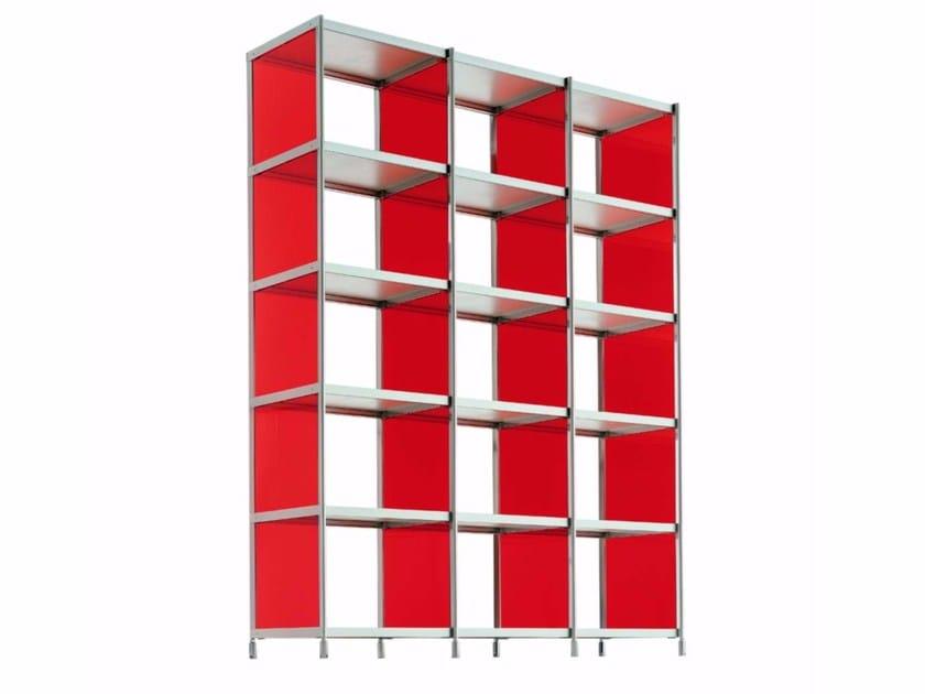 Open modular bookcase LIB010 - SEC_lib010 by Alias