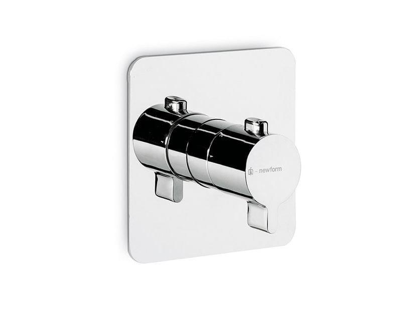 Thermostatic thermostatic shower mixer LIBERA | Thermostatic shower mixer - NEWFORM