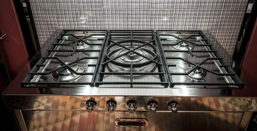 Cucina a libera installazione in acciaio inox liberi in cucina cucina a libera installazione - Liberi in cucina ...