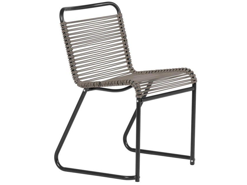Sled base garden chair LIDO | Chair by FIAM
